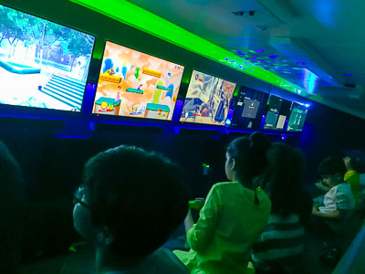 Mobile Video Game Party for kids