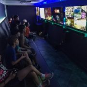 Mobile video game party