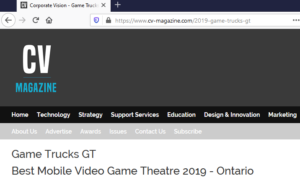 Best Mobile Video Game Theatre 2019 in Ontario