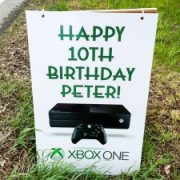 Happy birthday with xBox games