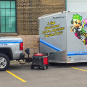 Game Trucks at Hockey team event
