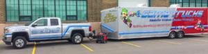 Game Trucks at Hockey team event