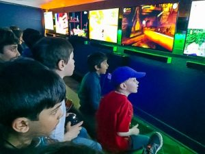 Video Game Party service with GT